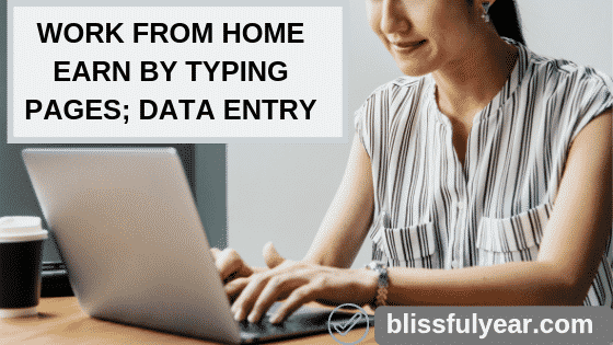 online earn money by typing pages